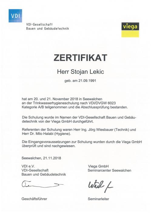 Stojan-Lekic-Trinkwasserhygiene-VDI-DVGW-6023