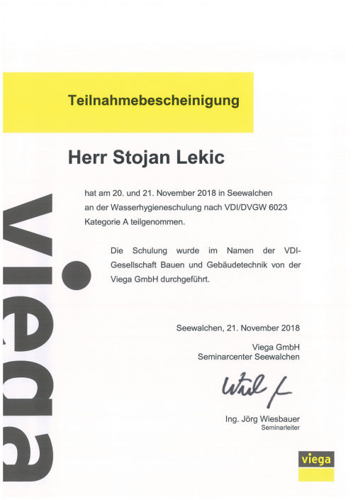 Stojan-Lekic-Wasserhygieneschulung-VDI-DVGW-6023-A